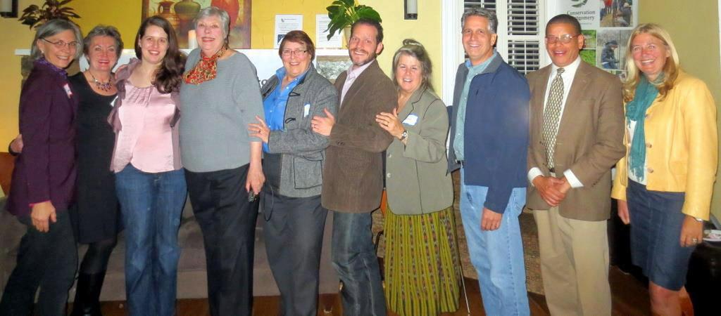 Board members at annual meeting2014